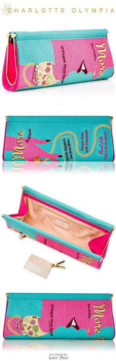 Charlotte Olympia Cruise 2016 - More is More Magazine Clutch