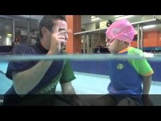 uSwim, level 2, skill 1 - Breath Control how to teach your child to swim, swimming lessons - YouTube
