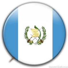 Guatemala flag badge