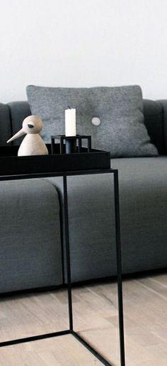 Via NordicDays.nl   MilleSand   HAY   By Lassen   Black and Grey