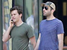 Zachary Quinto und Jonathan Groff