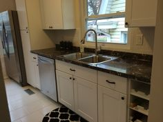 Galley Style Kitchen Remodel By BlankSpace LLC, Pittsburgh PA.