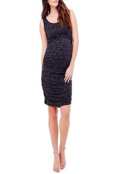c09d2286f5c463 40.51 | Ingrid & Isabel Marble Shirred Tank Dress ❤ #ingrid #isabel