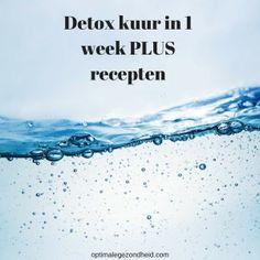 Wil jij ook eens goed ontgiften? In dit artikel meer informatie over de detox kuur en recepten om te beginnen.