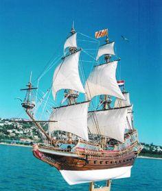 Replica Ships | Batavia | Model Shipbuilding