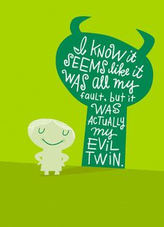 Evil Twin Sorry Sorry Card ~ I'm terribly sorry for the accidental post  in this board. Have a lovely day.