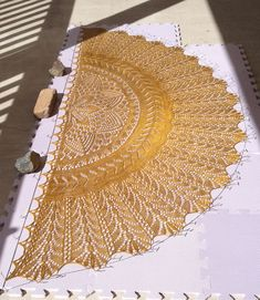 Best 11 Ravelry: High Desert pattern by Rosemary (Romi) Hill Lace Knitting Patterns, Shawl Patterns, Weaving Patterns, Knitting Stitches, Knitting Tutorials, Knitted Shawls, Crochet Shawl, Lace Shawls, Knit Cowl