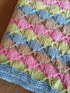 Ravelry: Treetops Baby Blanket (Archive) pattern by Darlene Dale