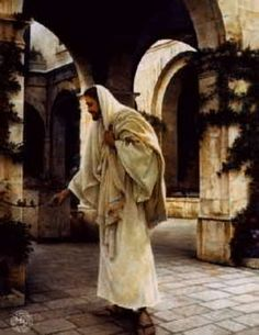 In His Constant Care - Painting of Jesus by Greg Olsen(Beautiful! Croix Christ, Greg Olsen Art, Munier, Pictures Of Jesus Christ, Christian Artwork, Lds Art, Jesus Painting, Heaven Painting, Jesus Christus