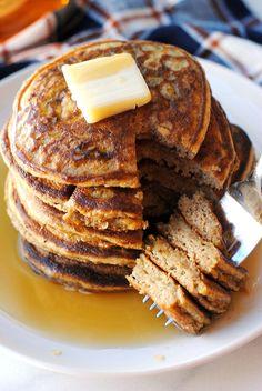 {Healthy} Harvest Pancakes - Eat Yourself Skinny