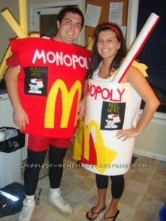 Original McDonald's Monopoly Couples Costumes