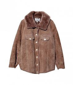 Meta Shearling Coat by Acne Studios // #Shopping #MustHave