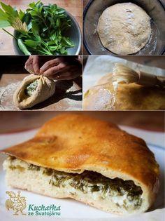 Kuchařka ze Svatojánu: CHAČAPURI Spanakopita, Quiche, Sandwiches, Bread, Cooking, Ethnic Recipes, Sweet, Food, Drink