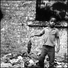 Bruce Davidson - USA. New York City. 1966. East 100 St.