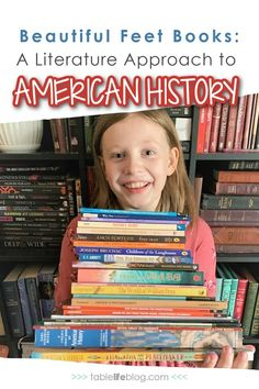 Studying the United States in your homeschool? Here's how Beautiful Feet Books' literature approach to early American history can help. Teaching American History, Teaching History, Homeschool Books, Homeschool Curriculum, Beautiful Feet Books, Teaching Character, Kids Study, Children's Picture Books, Us History