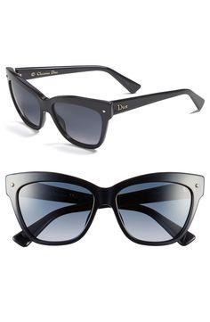 Dior 'Jupon' 55mm Retro Sunglasses