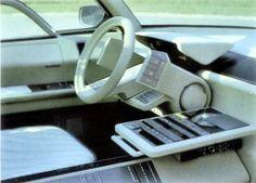 Citroen Eole Concept, 1986 - Interior