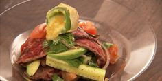 Flank Steak Salad with Jalapeno Poppers Recipes  Well worth the prep time!