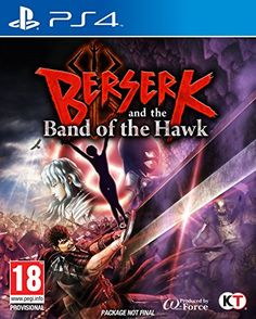 Sony PlayStation 4 Berserk and the Band of the Hawk Video Game Berserk, The Band, Online Video Games, Latest Video Games, Playstation Games, Ps4 Games, Games Consoles, Hawks Game, Hack And Slash