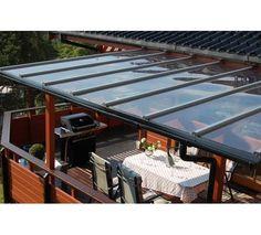 Terrassetak Klar SunGlaze 3600x585x4mm   MAXBO