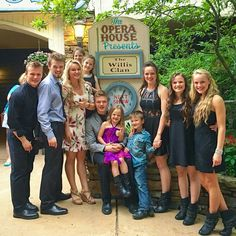 The Willis Clan at the Opry House.