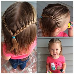 Abella's Braids: Help for your Toddler's Hair! She has TONS of ideas :)