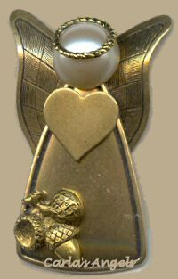Fertility Guardian Angel Pin - $18.95 http://www.carlasangels.com/angels/fertility-guardian-angel-pin.html