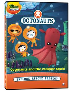 Octonauts - Octonauts and the Vampire Squid