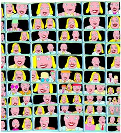 Terje Brofos, a Norwegian pop art artist aka Hariton Pushwagner James Rosenquist, Pop Art Artists, Claes Oldenburg, Jasper Johns, Roy Lichtenstein, Graphic Artwork, Hare Krishna, Outsider Art, Andy Warhol