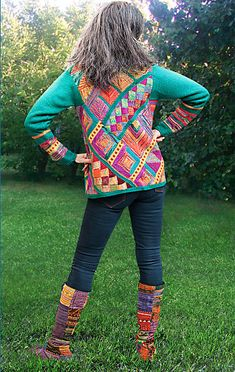 Ravelry: myrawood's Over the Rainbow Cardigan