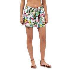 Mantaray Multi-coloured botanical print shorts | Debenhams