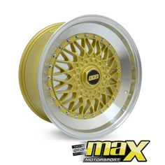17 Inch Mag Wheel - BBS RS 285 Style Replica 4X100/114.3 PCD