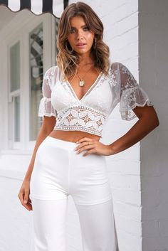 ced329938a93f Magic in the Making Top - White - Stelly
