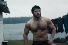 Henry Cavill - Man Of Steel: The man has lats that won't quit! And let's talk about those arms and pecs while we're at it...