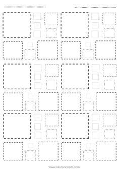 Kare kavramı çalışma sayfası ve kare geometrik şekiller kavramı çalışmaları etkinliği oyunu örnekleri kağıdı indirme, çıktı yazdırma. Free square worksheets download printable.