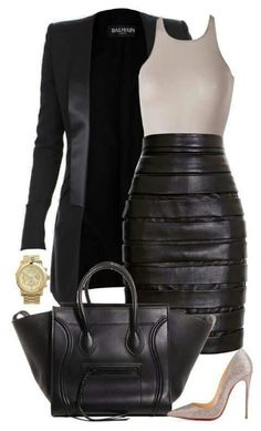 Not the skirt but some cite pants and this outfit would rock!