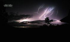Lightning over Costa Rica