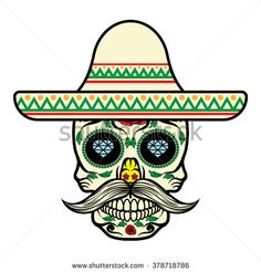 Find Frame with mexican skull Stock Images in HD and millions of other royalty-free stock photos, illustrations, and vectors in the Shutterstock collection. Sugar Skull Images, Sugar Skull Design, Sugar Skull Art, Sugar Skulls, Calaveras Mexicanas Tattoo, Caveira Mexicana Tattoo, Planet Drawing, Mexico Culture, Deco Boheme