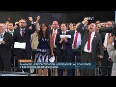 Juristas de todo o país se manifestam a favor do mandato de Dilma Rousseff