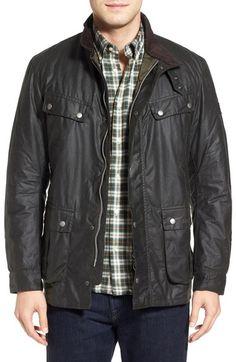 Main Image - Barbour Duke Waxed Jacket