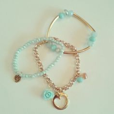 Turquoise rose love gold DQ