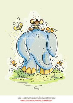 Elephant Friends (2 of 3) by Rachelle Anne Miller, via Flickr