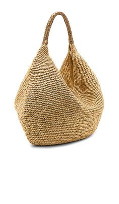 Shop for florabella Villahermosa Lux Tote in Natural & Gold at REVOLVE. Free Shop for florabella Villahermosa Lux Tote in Natural & Gold at REVOLVE. Free day shipping and returns, 30 day price match guarantee. Source by oap. Crochet Tote, Crochet Handbags, Bead Crochet, Summer Handbags, Summer Bags, Basket Bag, Knitted Bags, Medium Bags, Handmade Bags