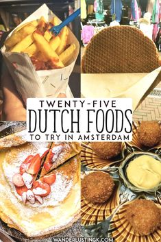 Planning what to eat in Amsterdam, the Netherlands? Your Dutch food bucket list with twenty five Dutch foods that you'll want to eat in Holland written by a Dutch resident. Includes Dutch desserts…MaisMais Netherlands Food Accedi al sito per informazioni https://storelatina.com/netherlands/recipes #photographytravel #Netherlandstravel #foodNetherlands #NetherlandsFood