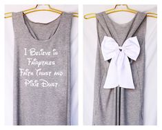 I believe in fairytales faith trust and pixie dust princess: Workout Shirt…