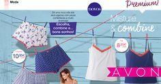 Crie o seu pijama ideal ou compre todas as peças para ainda mais combinações, divirta-se!