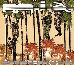 Sunshowers single cover.  MIA , Steve Loveridge 2004