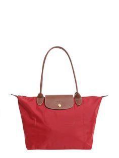 Shop Longchamp Small Le Pliage Bag and save up to EXPRESS international shipping! Large Bags, Leather Handle, Longchamp, Saint Laurent, Shoulder Bag, Tote Bag, Pocket, Zip, Closure