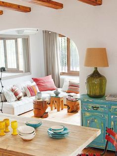 Breathtaking Mediterranean retreat in Jávea, a coastal town in Valencia, Spain. Interior designer Jessica Bataille.