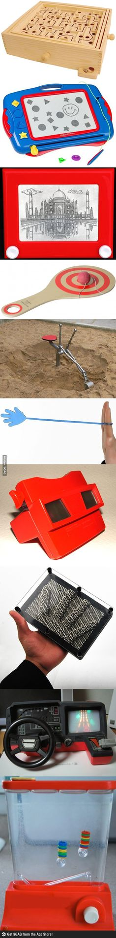 Awesome toys from our childhood